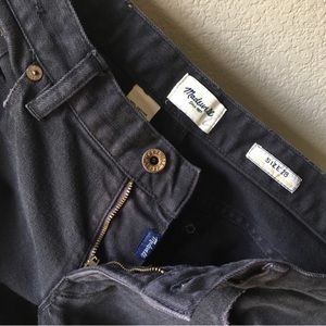 Madewell Rail Straight jeans 28